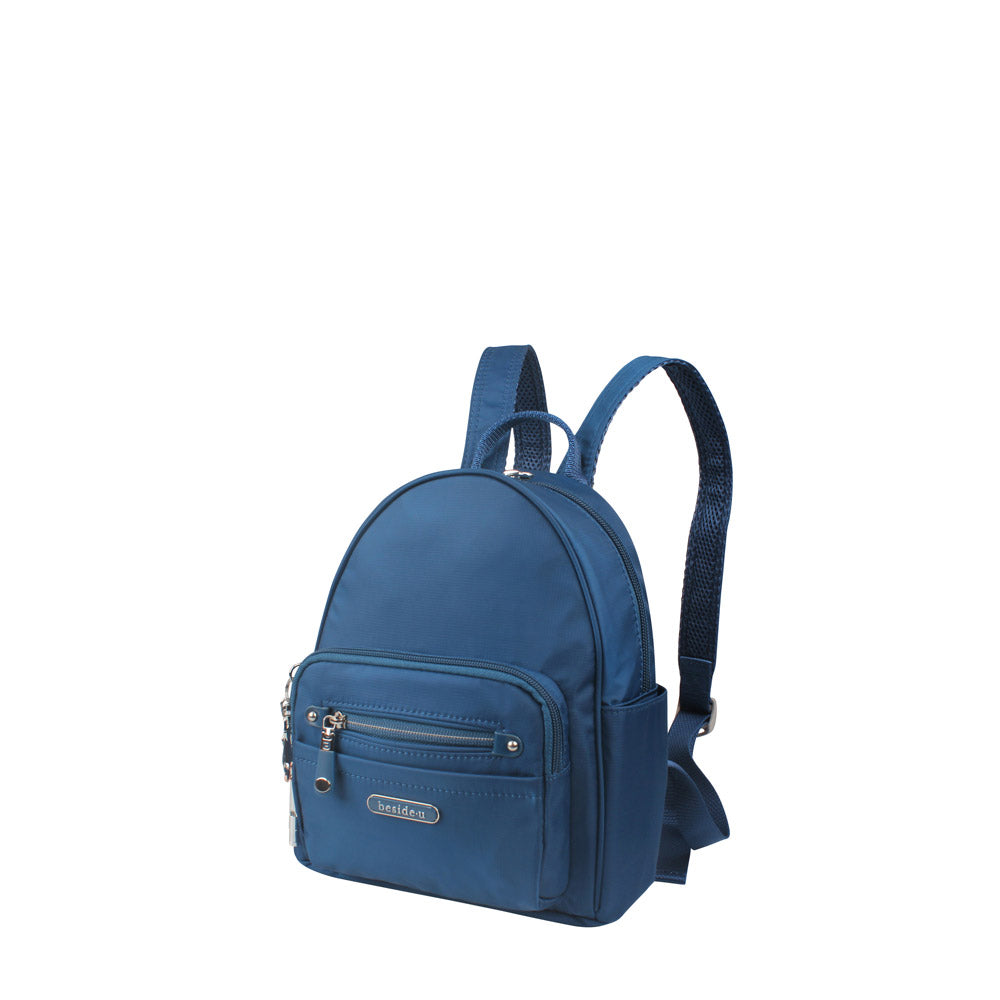 Backpack - Baxter T Small Backpack Angled [Savvy Blue]