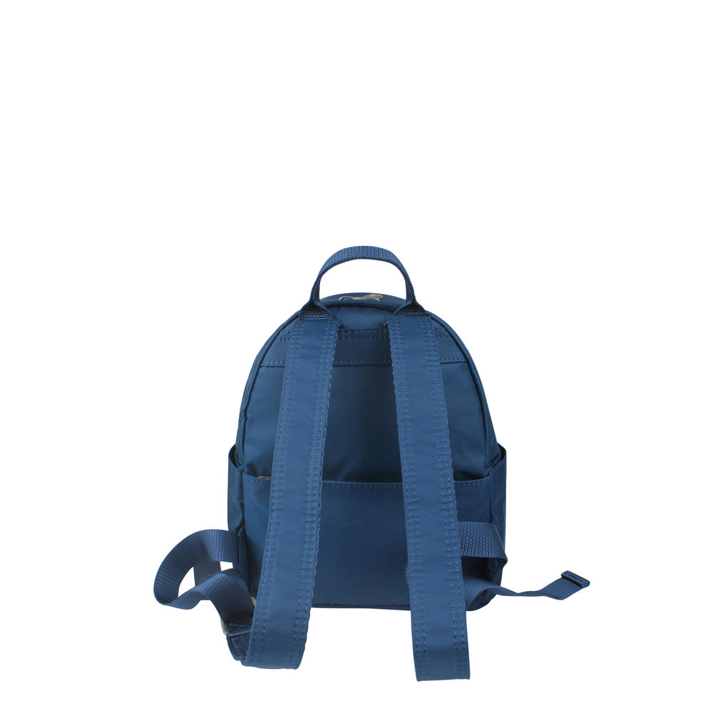 Backpack - Baxter T Small Backpack Back [Savvy Blue]