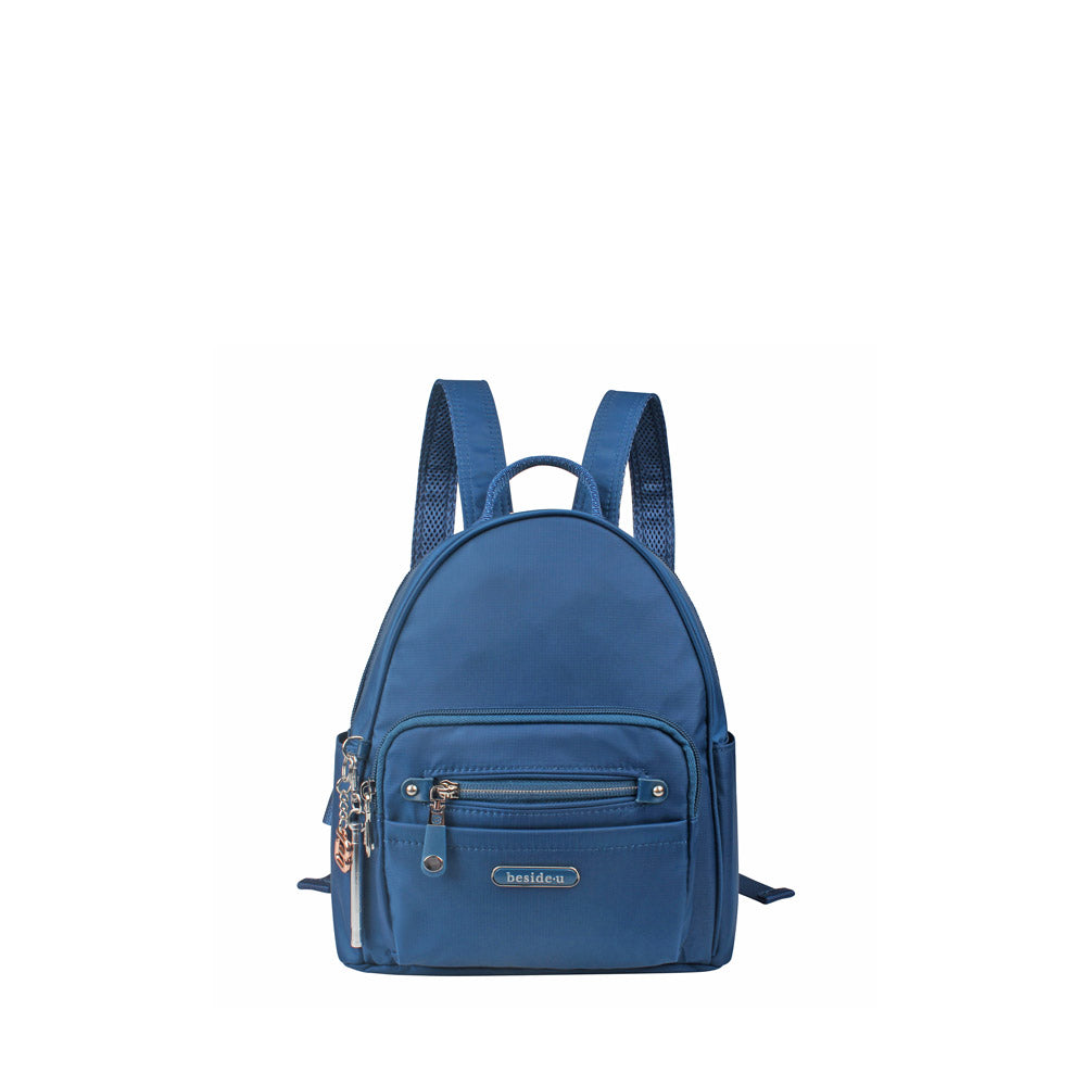 Backpack - Baxter T Small Backpack Front [Savvy Blue]
