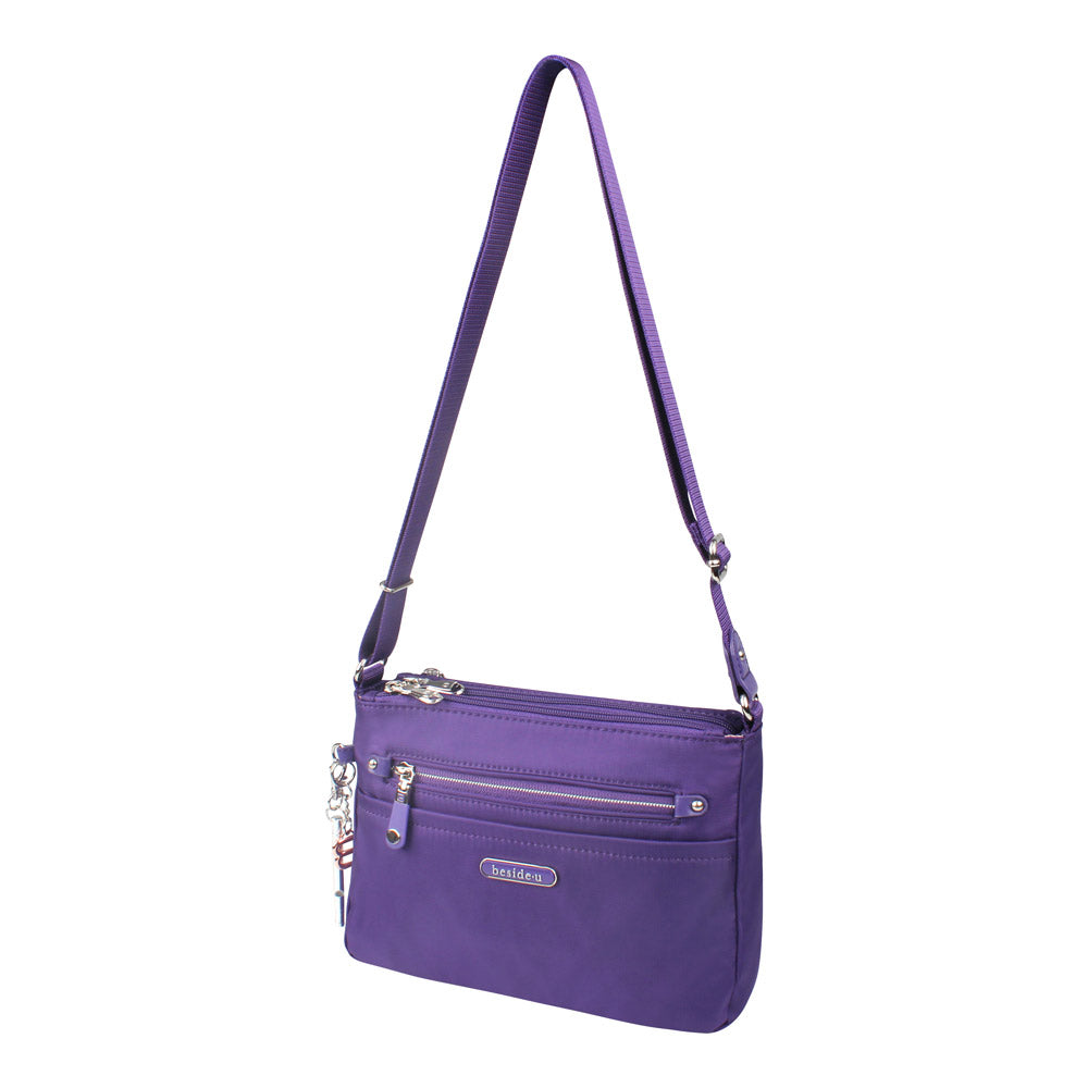 Crossbody Bag - Reyes Crossbody Bag Angled [Savvy Purple]