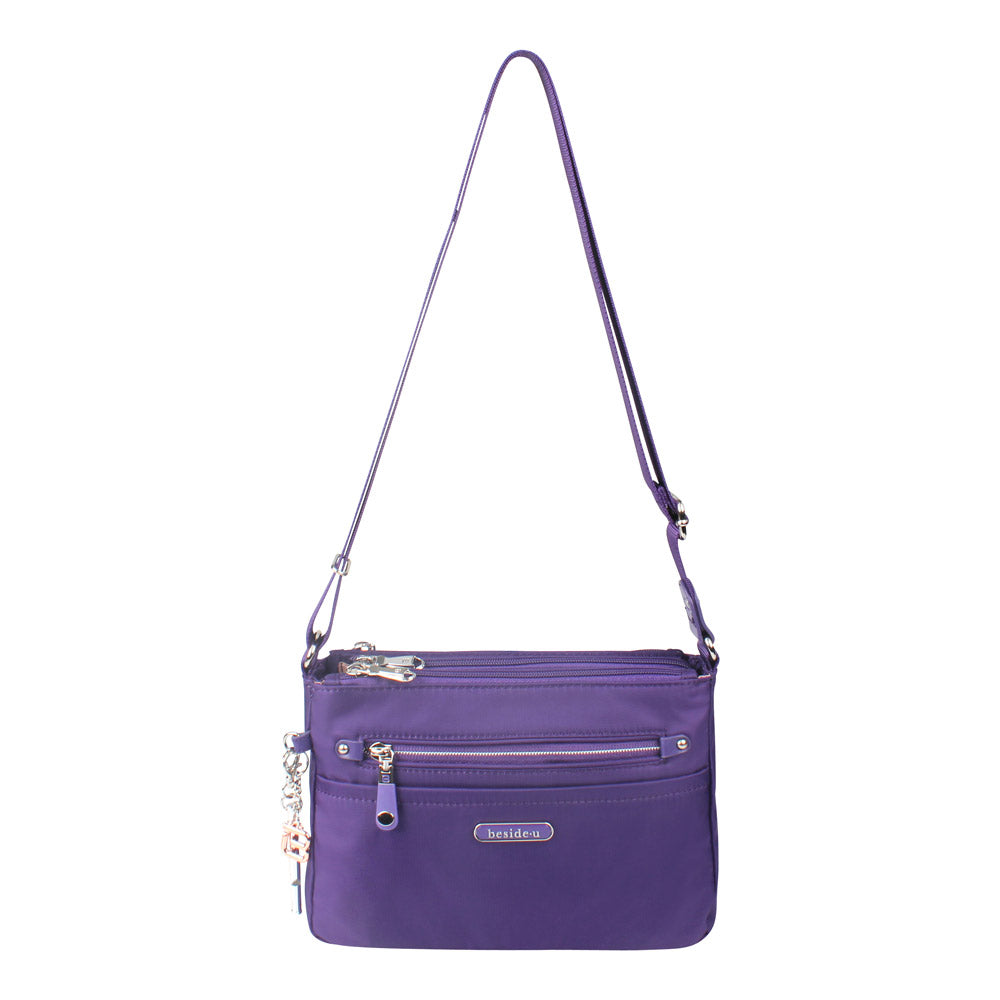 Crossbody Bag - Reyes Crossbody Bag Front [Savvy Purple]