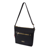 Crossbody Bag - Alamitos Crossbody Bag Angled [Black]