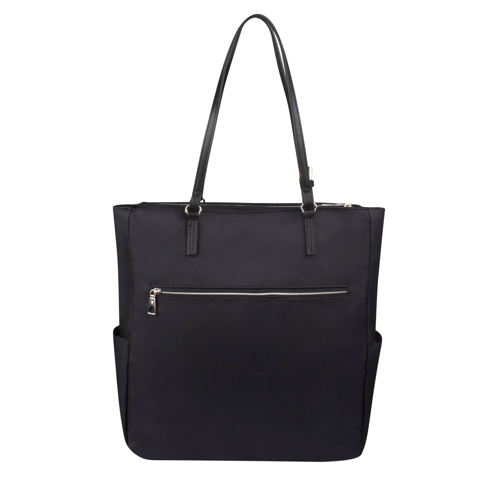 Tote Bag - Coleridge Tote Back Black White
