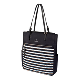 Tote Bag - Coleridge Tote Angled [Black White]