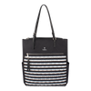 Tote Bag - Coleridge Tote Front Black White