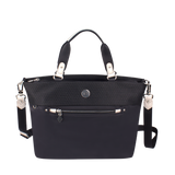 Satchel Handbag - Rincon Satchel Bag Front [Black Mesh]