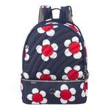 Backpack - Scarlet Medium Backpack Front [Navy Daisy]