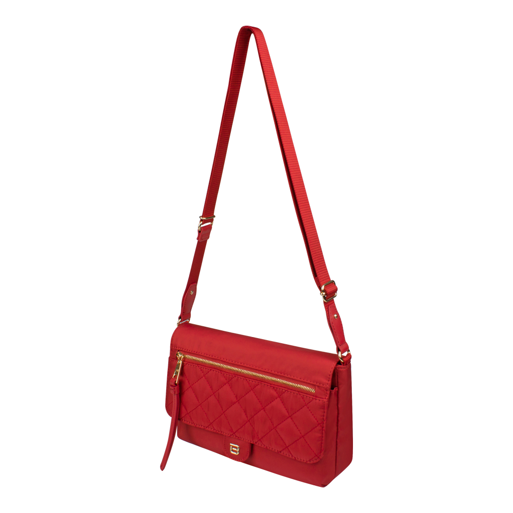 Crossbody Bag - Dillon Crossbody Bag Angled [Biking Red]