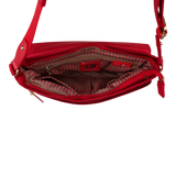 Crossbody Bag - Dillon Crossbody Bag Inside Biking Red