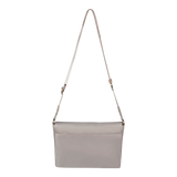 Crossbody Bag - Dillon Crossbody Bag Back Soft Gray