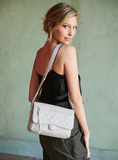Crossbody Bag - Dillon Crossbody Bag Model Soft Gray