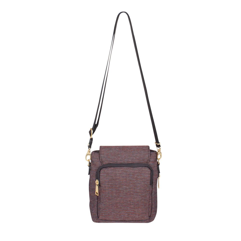Crossbody Bag - Issa Crossbody Bag Back [Tricolor Red]