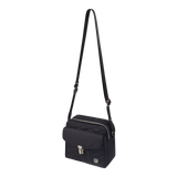 Crossbody Bag - Glendale Crossbody Bag Angled [Black]