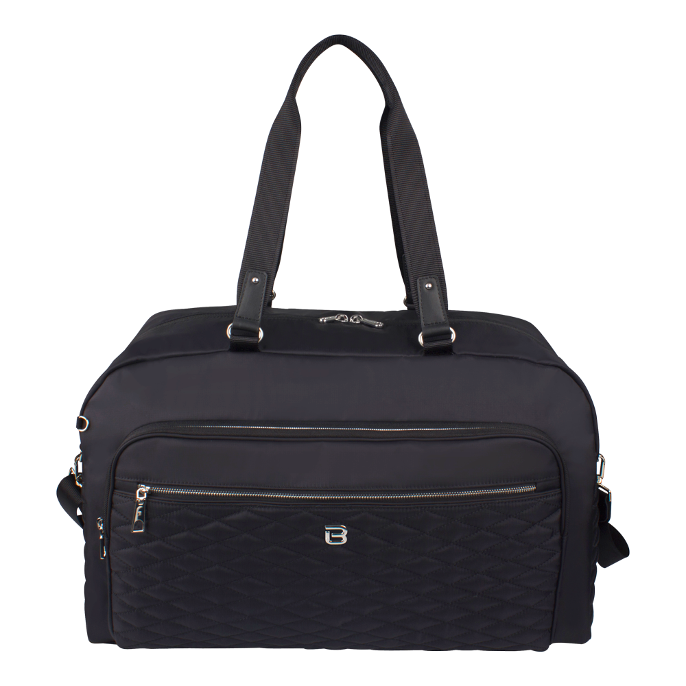 Duffel Handbag - Senford Duffel Bag Front Black
