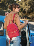 Backpack - Versailles Two-Tone Casual Backpack Model