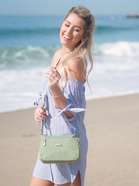 Crossbody Bag - Kassie Crossbody Bag Model Luminary Green