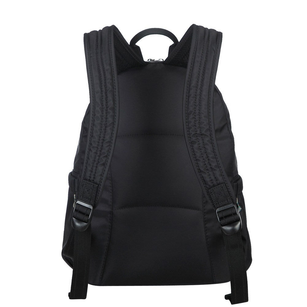 Backpack - Arroyo Leather Trimmed City Backpack Back [Black]
