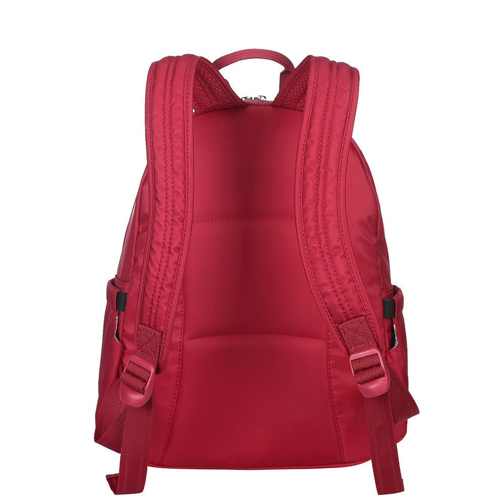 Backpack - Arroyo Leather Trimmed City Backpack Back [Jester Red]