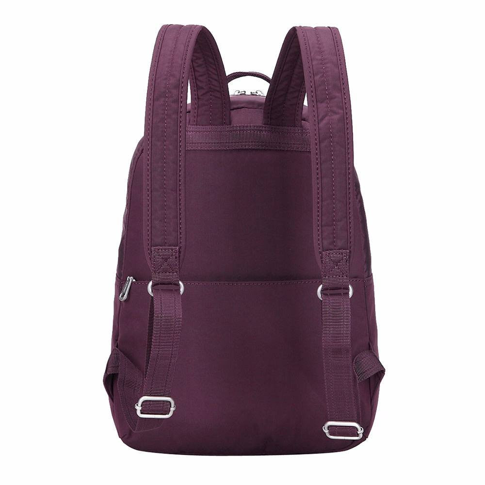 Backpack - Camilla Debossed Travel Backpack Back [Blackberry Wine]