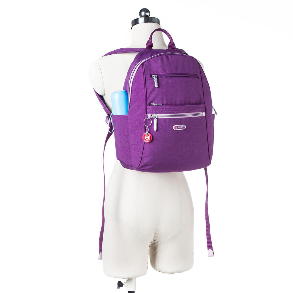 Backpack - Felix Two-Tone Compact Travel Backpack Mannequin