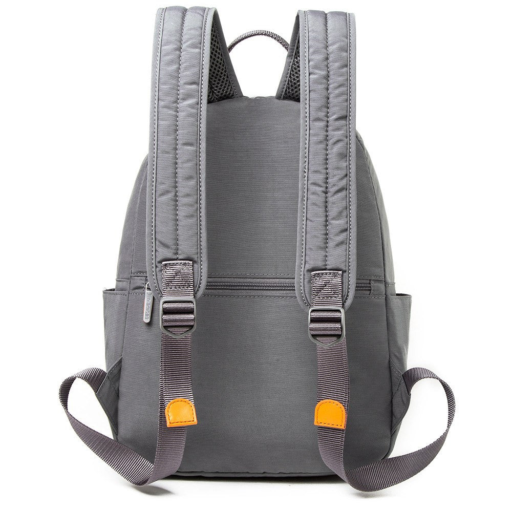 Backpack - Felix Two-Tone Compact Travel Backpack Back [Castlerock Grey]