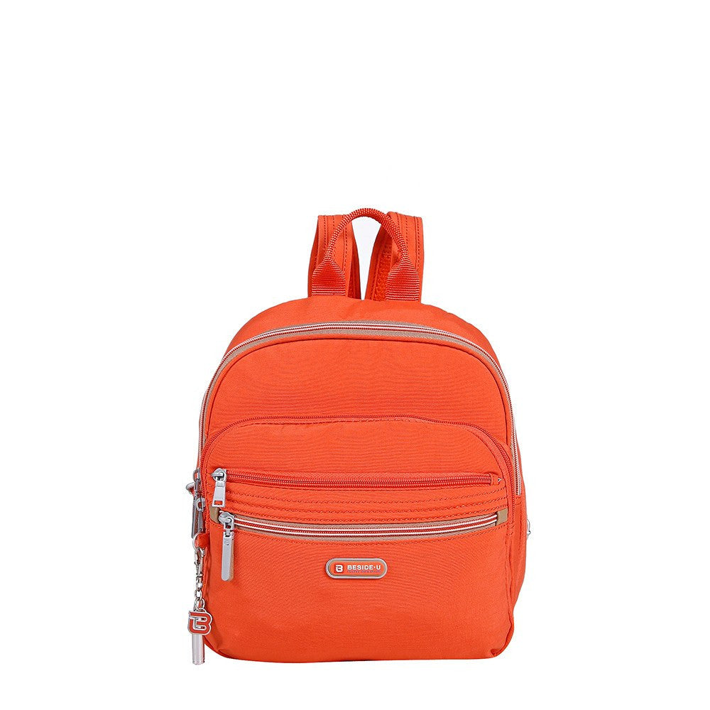 Backpack - Majorca Two-Tone Leisure Travel Backpack Front [Sweet Orange]