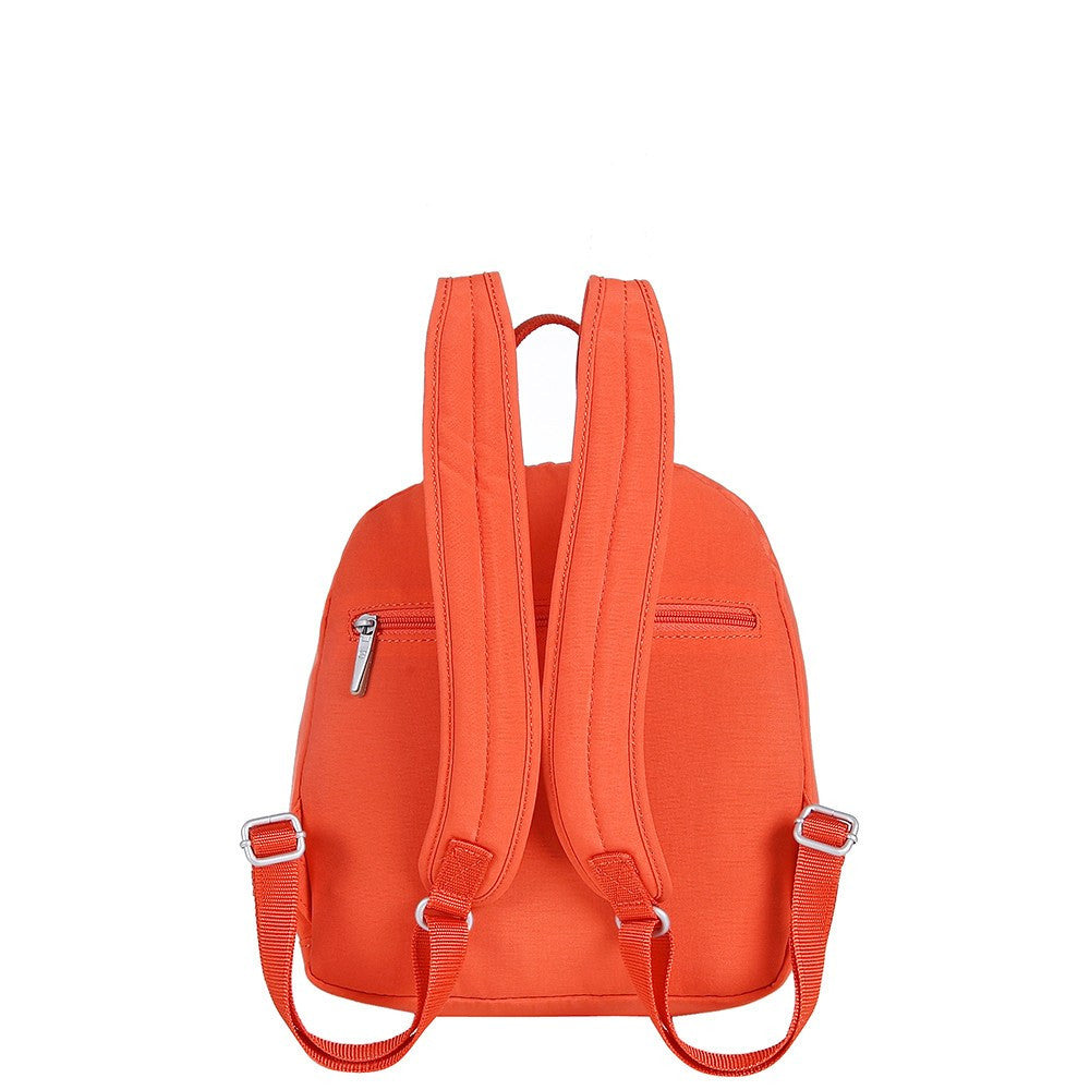 Backpack - Majorca Two-Tone Leisure Travel Backpack Back [Sweet Orange]