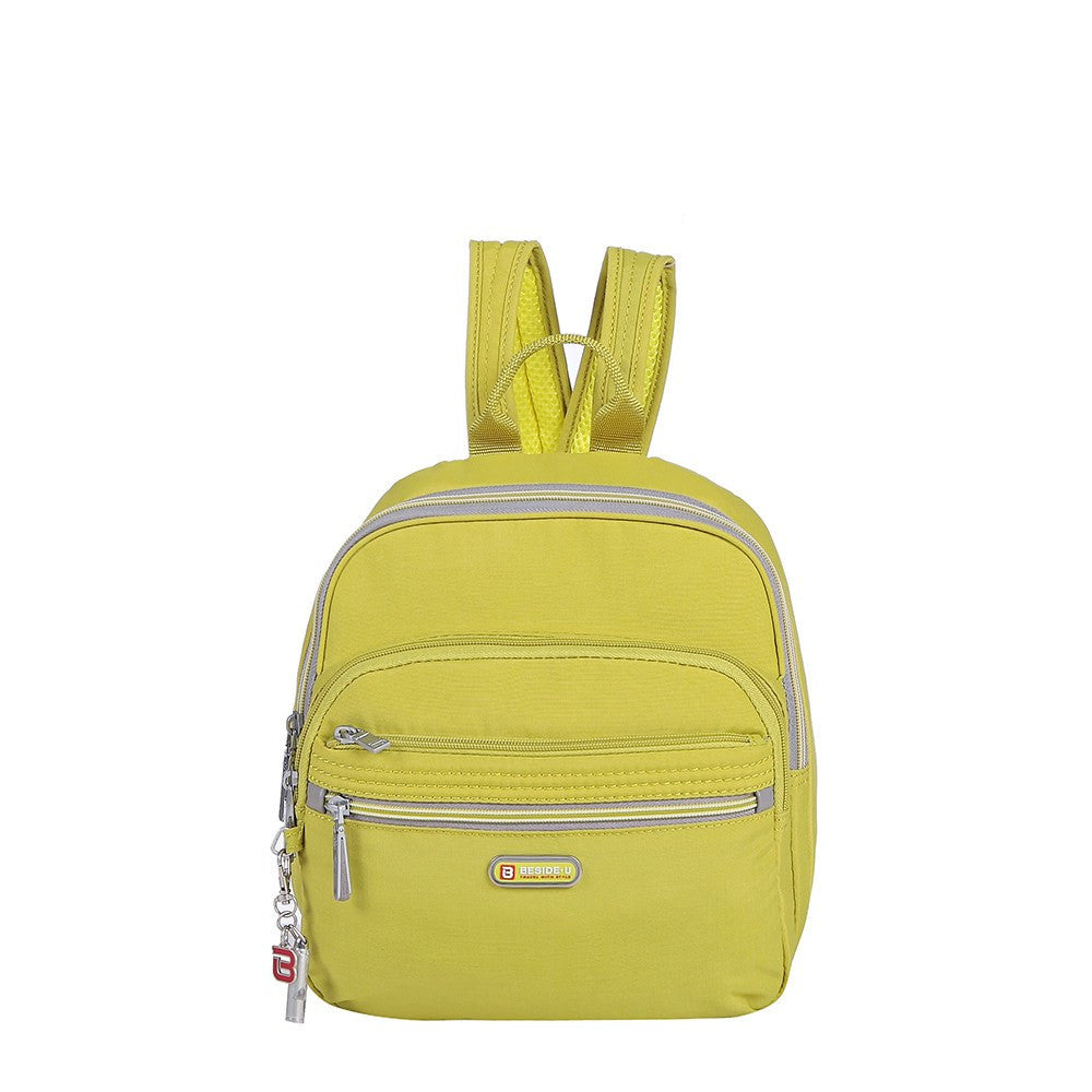 Backpack - Majorca Two-Tone Leisure Travel Backpack Front [Citronelle Green]