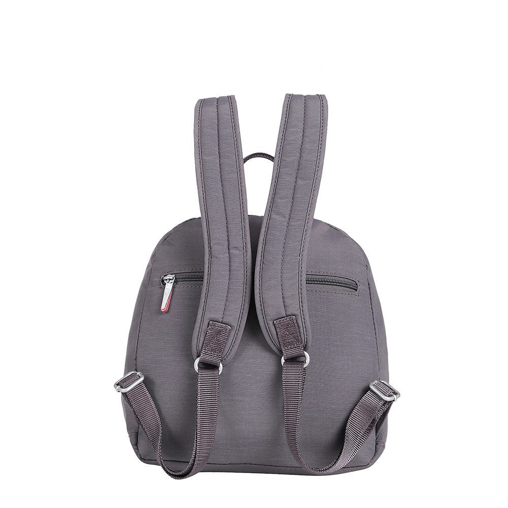 Backpack - Majorca Two-Tone Leisure Travel Backpack Back [Rabbit Grey]
