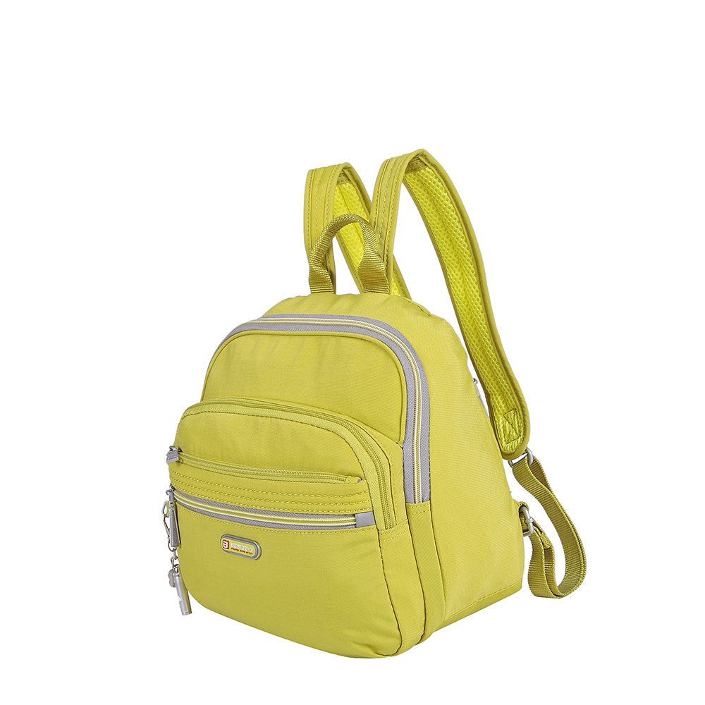 Backpack - Majorca Two-Tone Leisure Travel Backpack Angled [Citronelle Green]