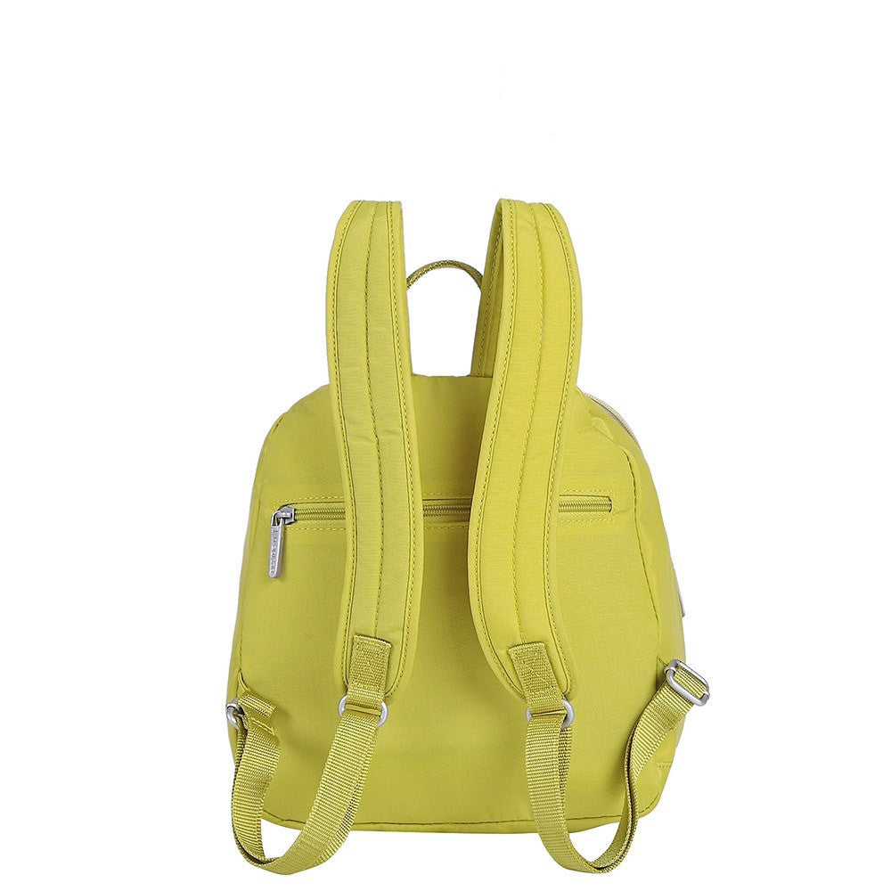 Backpack - Majorca Two-Tone Leisure Travel Backpack Back [Citronelle Green]