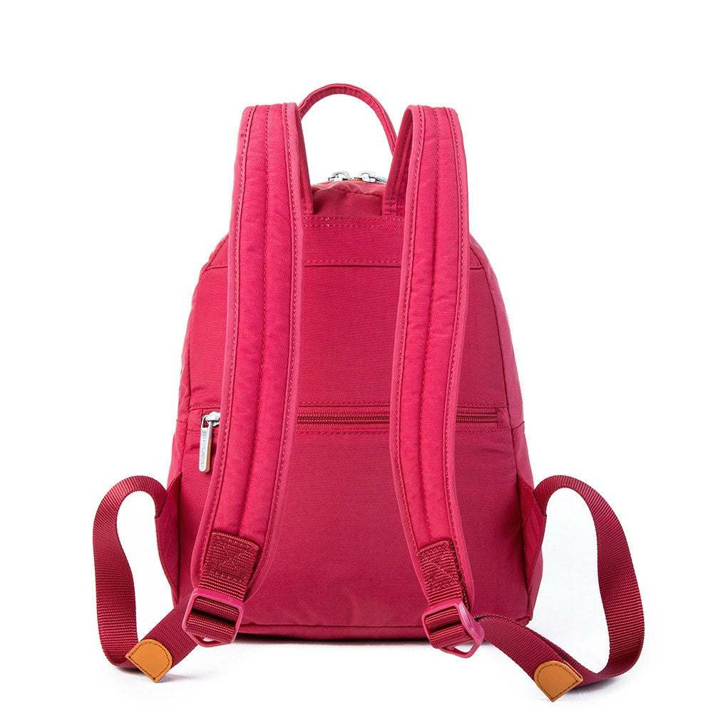 Backpack - Versailles Two-Tone Casual Backpack Back [Heart Red]