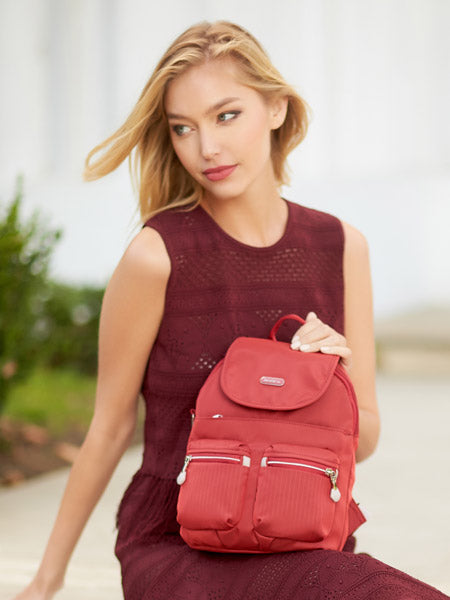 Backpack - Karla Small Backpack Model [Fiery Red]