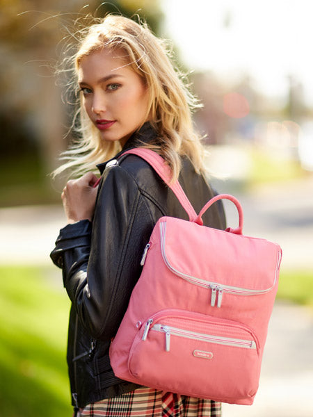 Backpack - Mindoro Medium Backpack Model [Blush Pink]