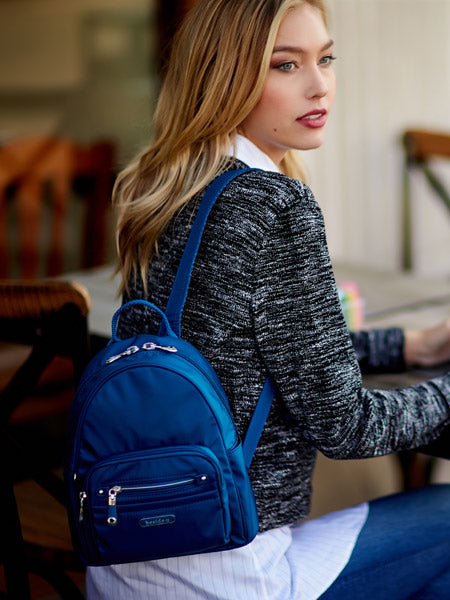 Backpack - Baxter T Small Backpack Model [Savvy Blue]