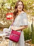 Crossbody Bag - Mila Crossbody Bag Model Red Logo