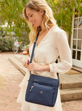Crossbody Bag - Buena Crossbody Bag Model Mood Blue