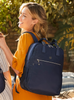 Backpack - Mara Tall Backpack Model Mood Blue