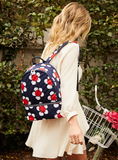 Backpack - Scarlet Medium Backpack Model [Navy Daisy]