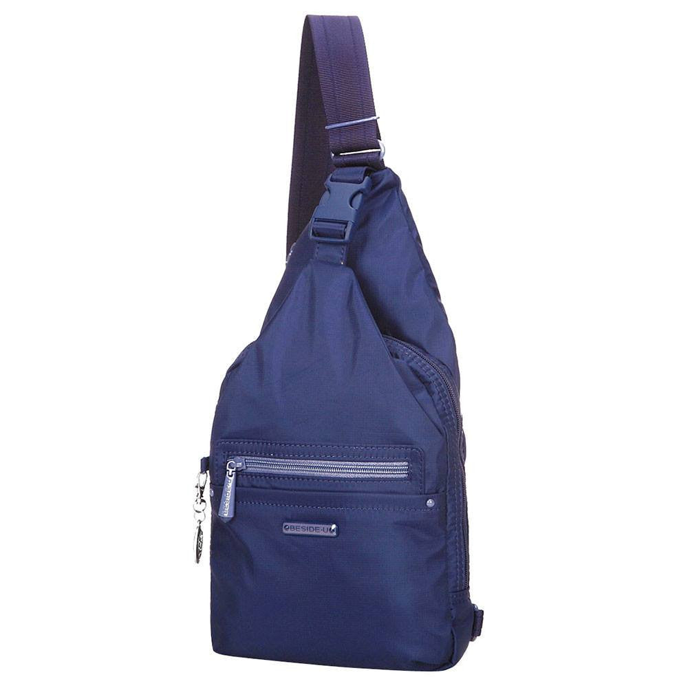 Crossbody Bag - Azusa RFID Pocket Crossbody Sling Bag Angled [Blue Depths]