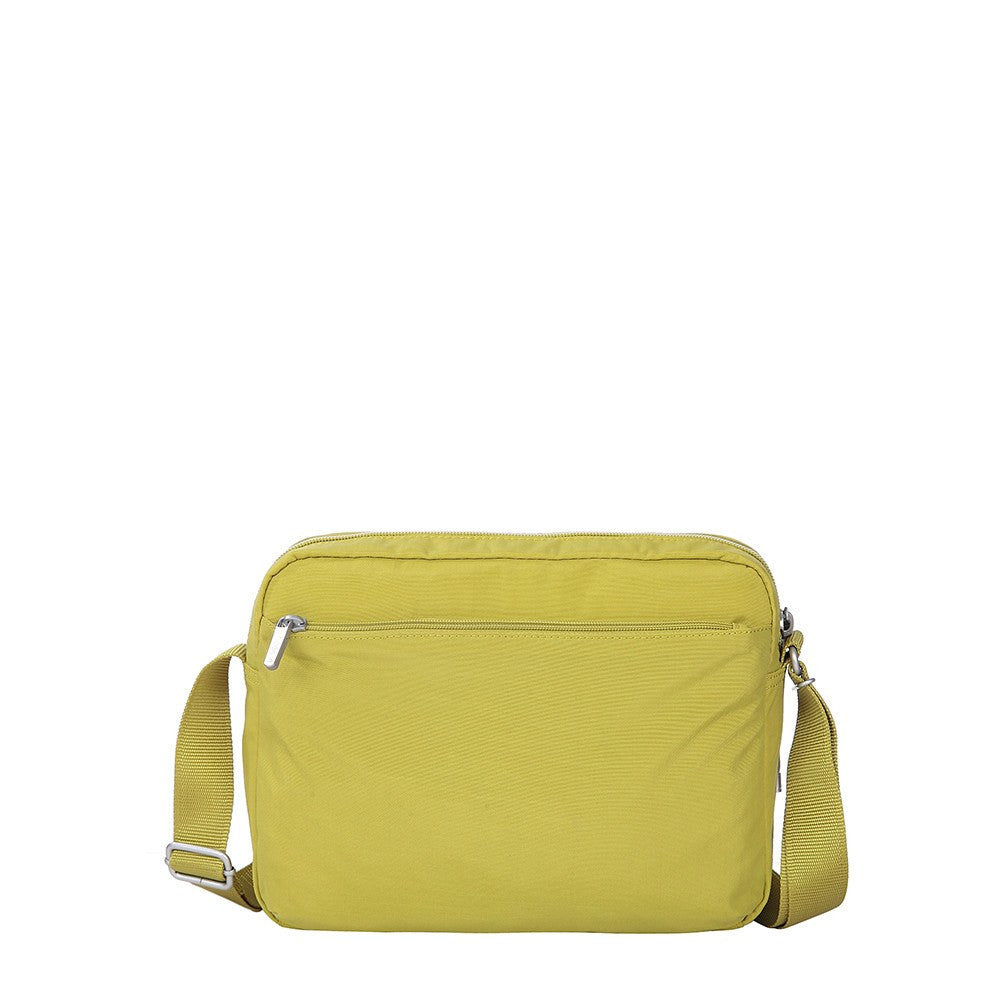 Crossbody Bag - Borah Two-Tone Medium Crossbody Bag Back [Citronelle Green]