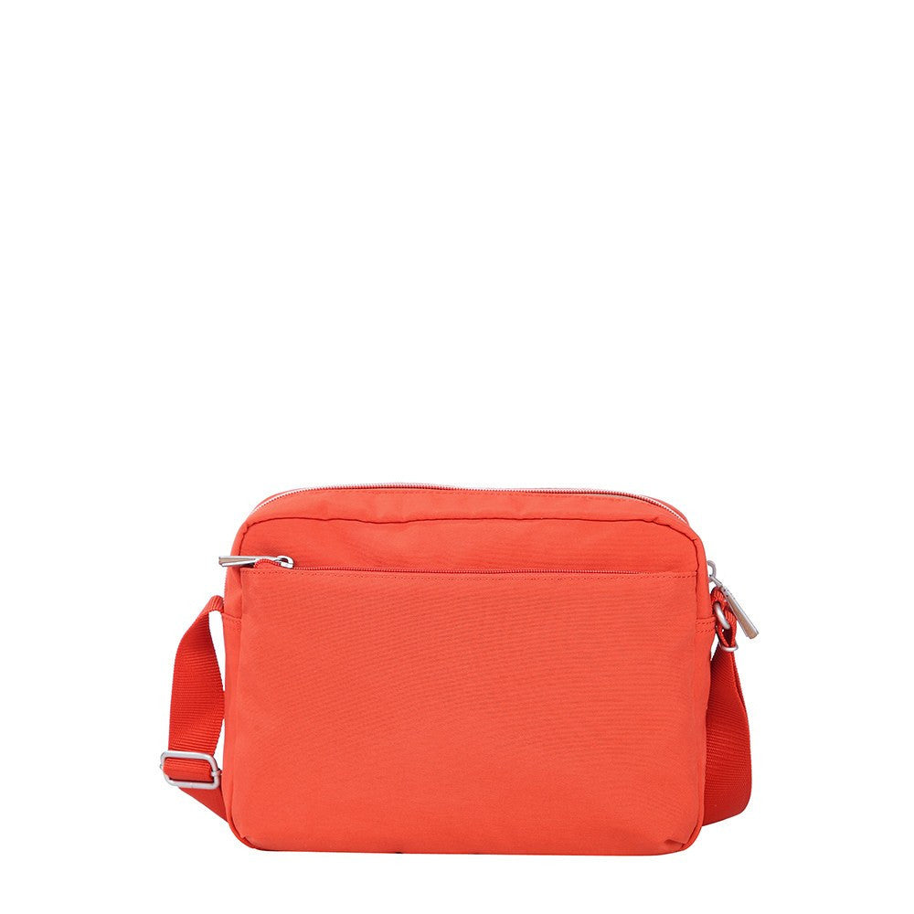 Crossbody Bag - Borah Two-Tone Medium Crossbody Bag Back [Sweet Orange]