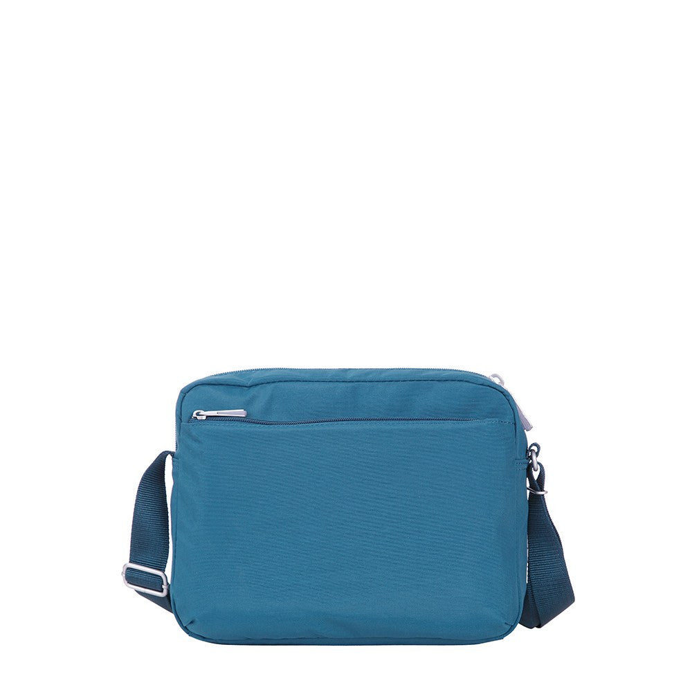 Crossbody Bag - Borah Two-Tone Medium Crossbody Bag Back [Navy Blue]