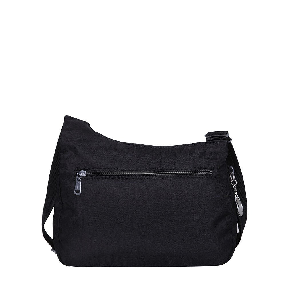 Crossbody Bag - Danica RFID Pocket Medium Crossbody Bag Back [Black]