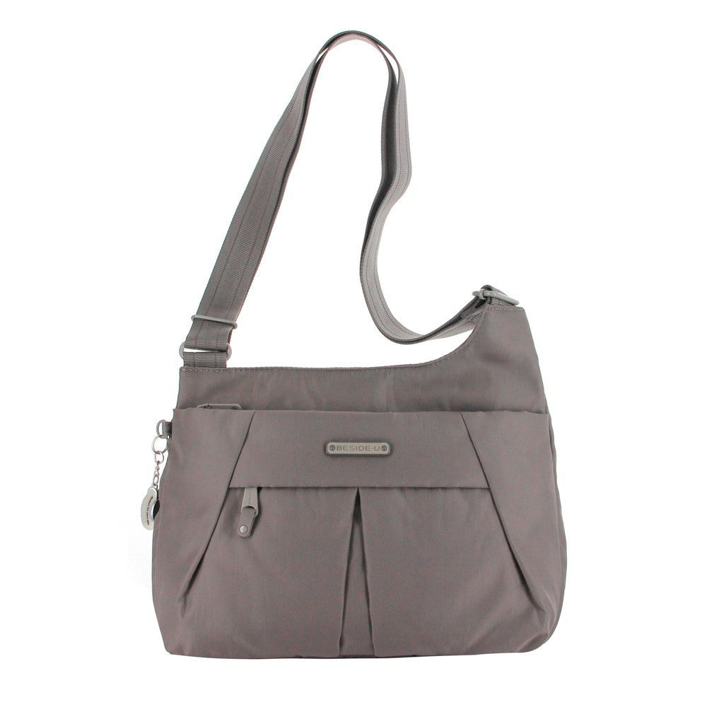 Crossbody Bag - Danica RFID Pocket Medium Crossbody Bag Front [Cord Brown]