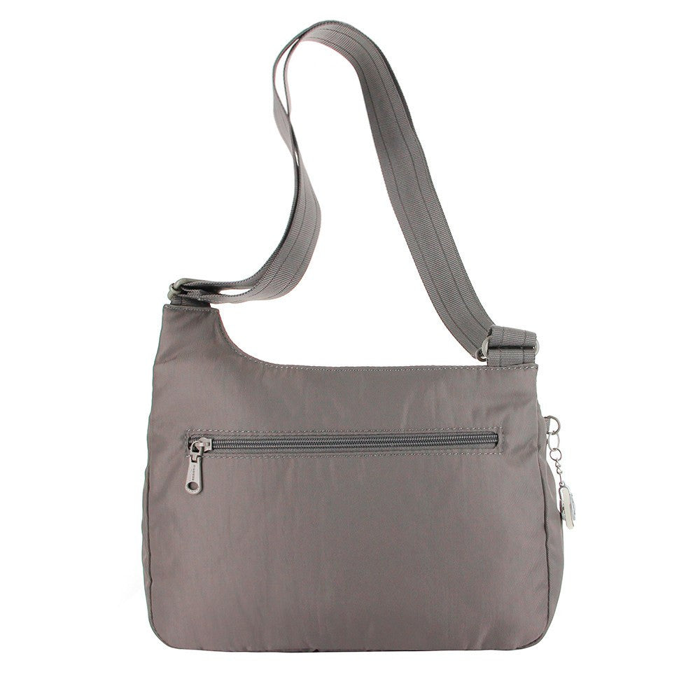 Crossbody Bag - Danica RFID Pocket Medium Crossbody Bag Back [Cord Brown]
