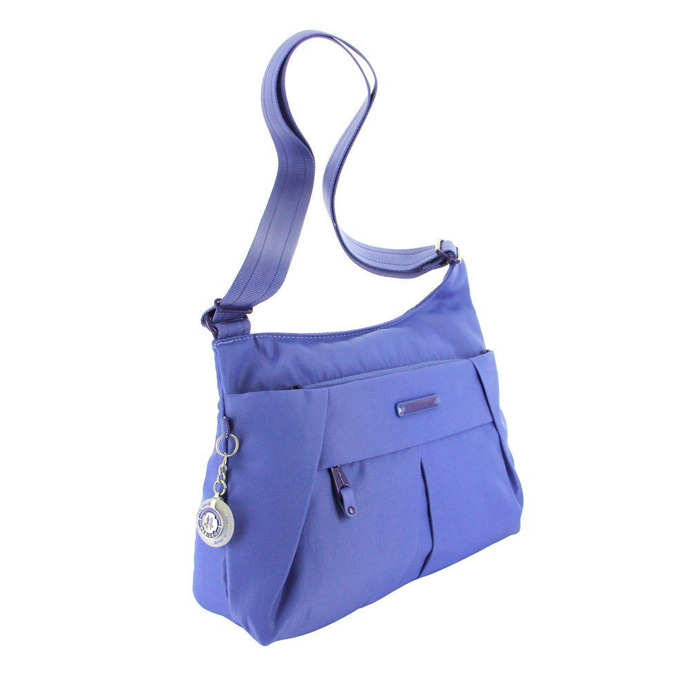 Crossbody Bag - Danica RFID Pocket Medium Crossbody Bag Angled [New Amparo Blue]