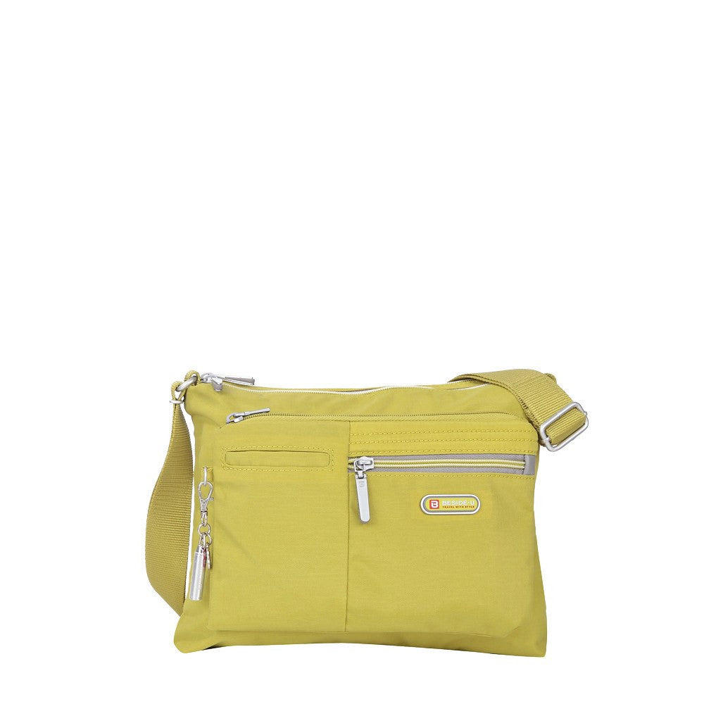Crossbody Bag - Genoa Two-Tone Casual Crossbody Bag Front [Citronelle Green]