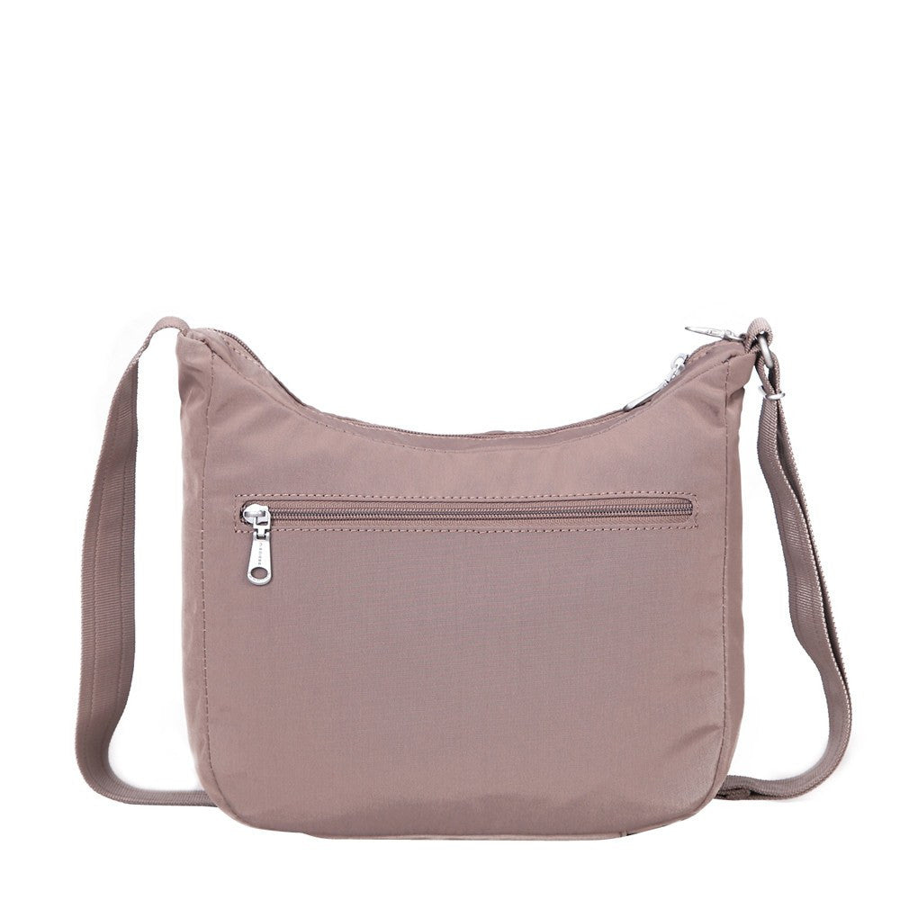 Crossbody Bag - Juliana Debossed Travel Crossbody Bag Back [Zinc Grey]
