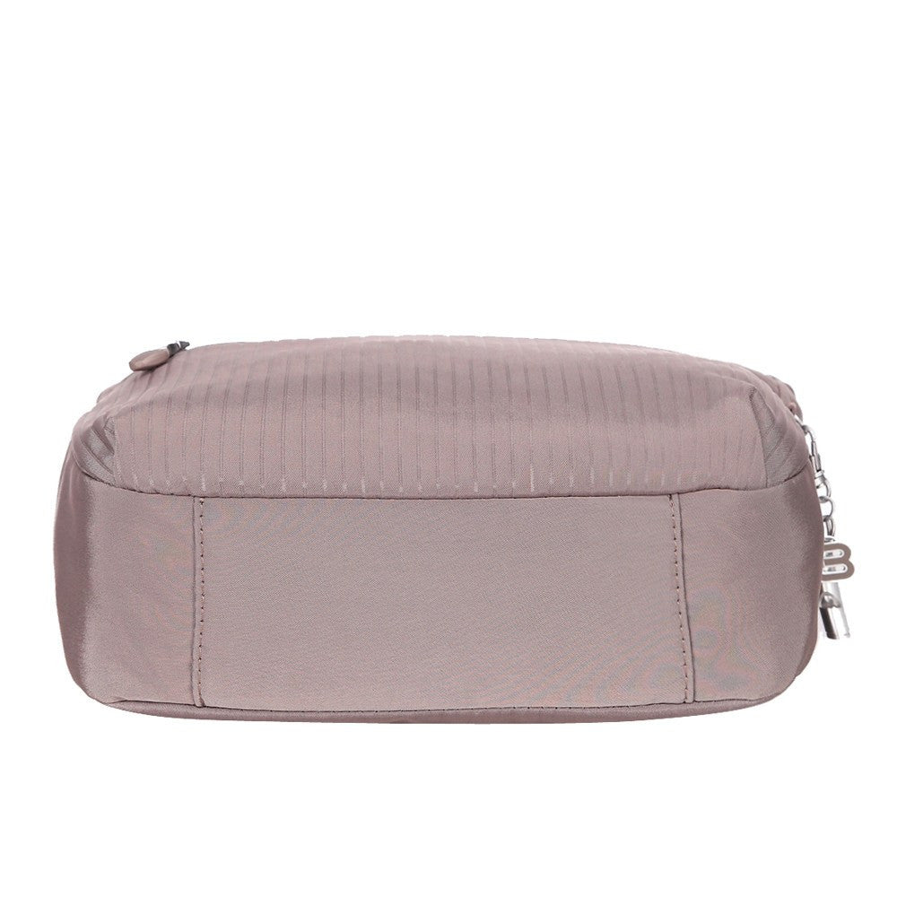 Crossbody Bag - Juliana Debossed Travel Crossbody Bag Bottom [Zinc Grey]